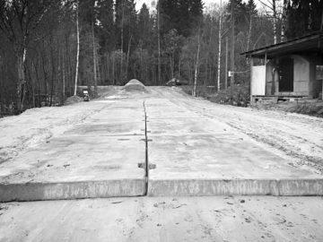 бетонные подъездные пути